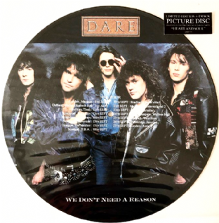 "Dare - We Don't Need A Reason (12"") (Picture Disc) (VG-/VG-)"
